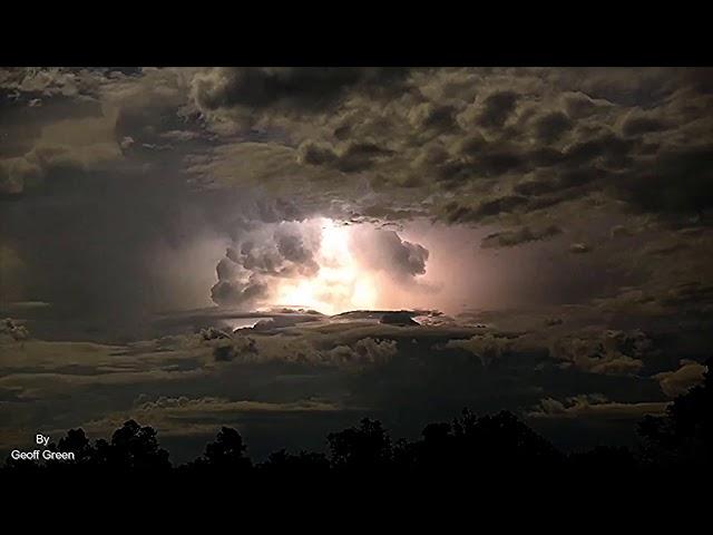 Así se desata la furia de una tormenta eléctrica