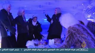 أجواء سيبيرية في مقهى بالكويت