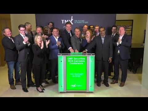 GMP Securities 2018 Cannabis Conference Opens Toronto Stock Exchange, April 19, 2018