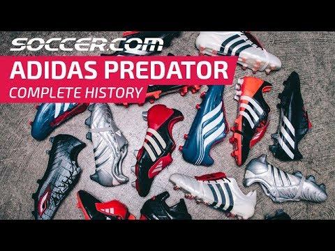 db1bc30ca SOCCER.COM Complete History of the adidas Predator - YouTube