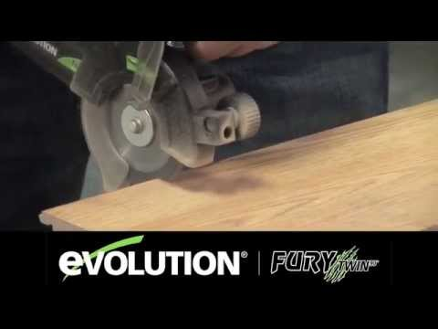 scie double lame fury twin 90 mm chez euro-expos - youtube