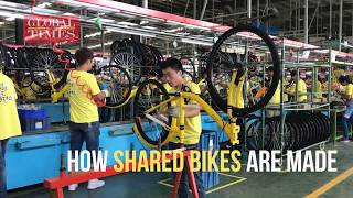 How shared bikes are made