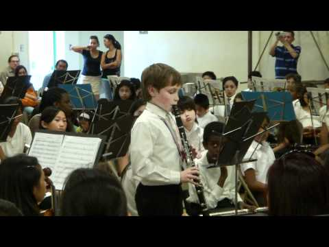 Brentwood Science Magnet Elementary Orchestra performance