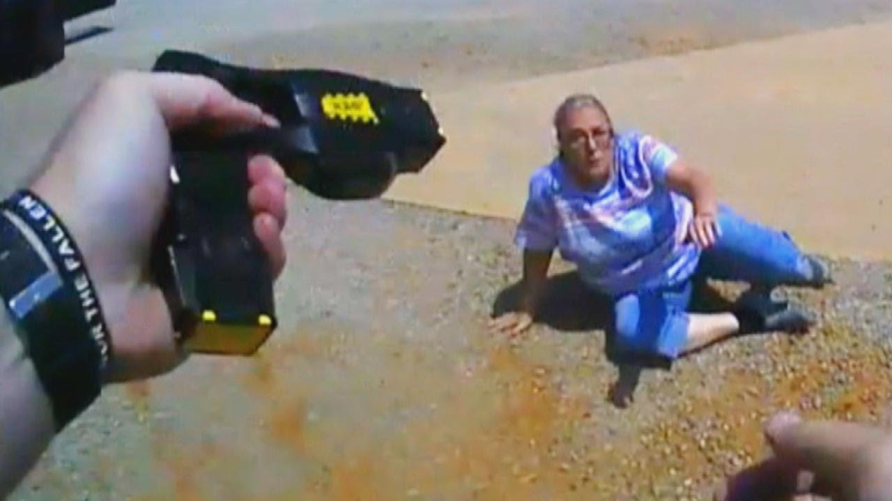 Cop Tases 65-Year-Old Woman in Traffic Stop Gone Wrong