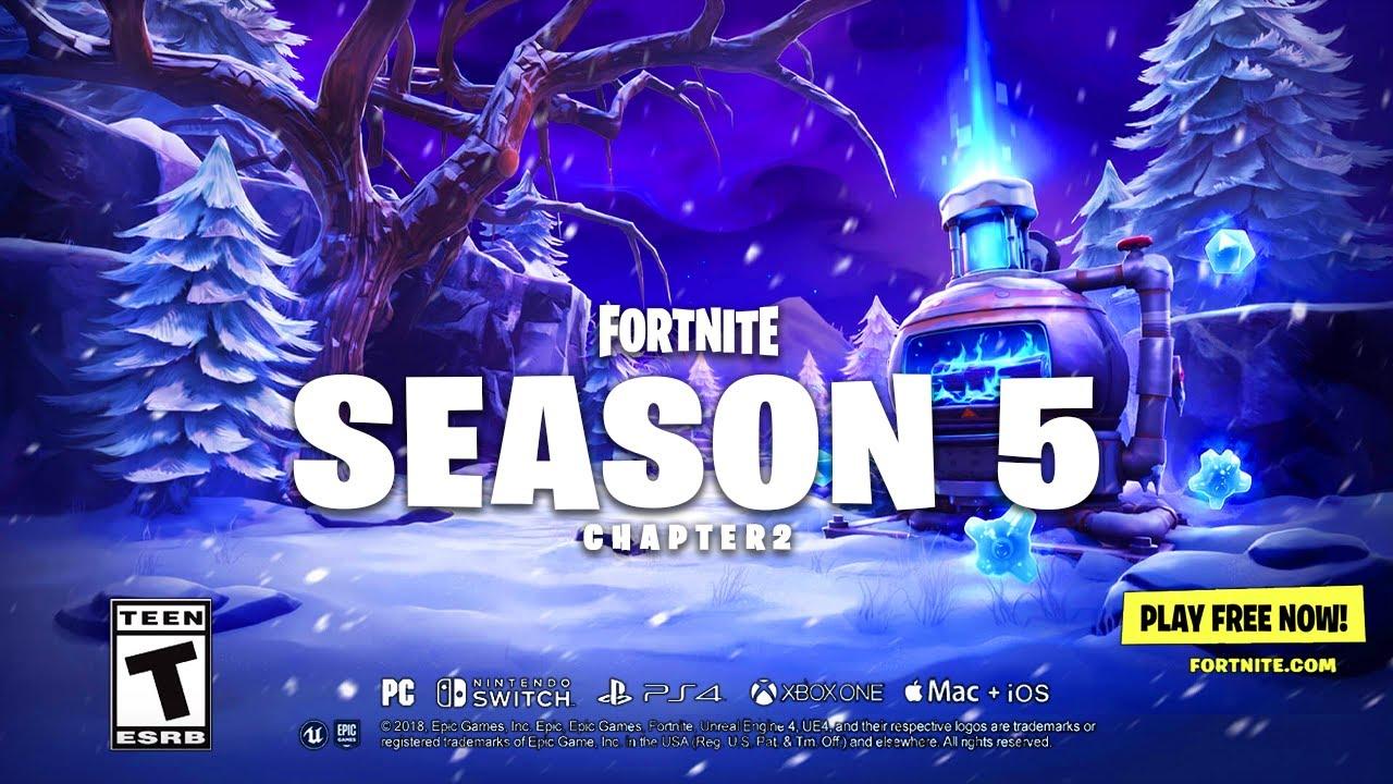 Fortnite Chapter 2 Season 5 Launch Trailer Youtube