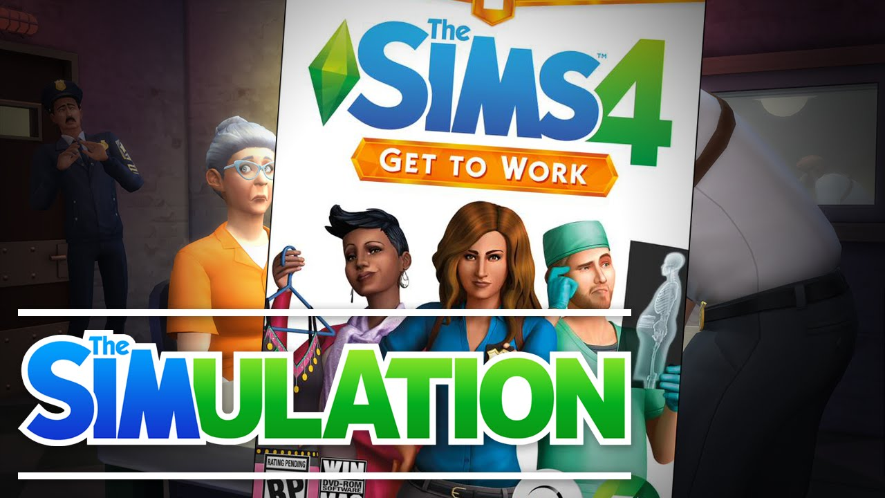 Image result for The Sims 4 Get to Work Download Free