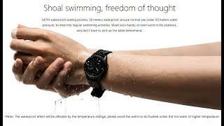 Lenovo Watch 9 Hybrid Analog waterproof Smartwatch