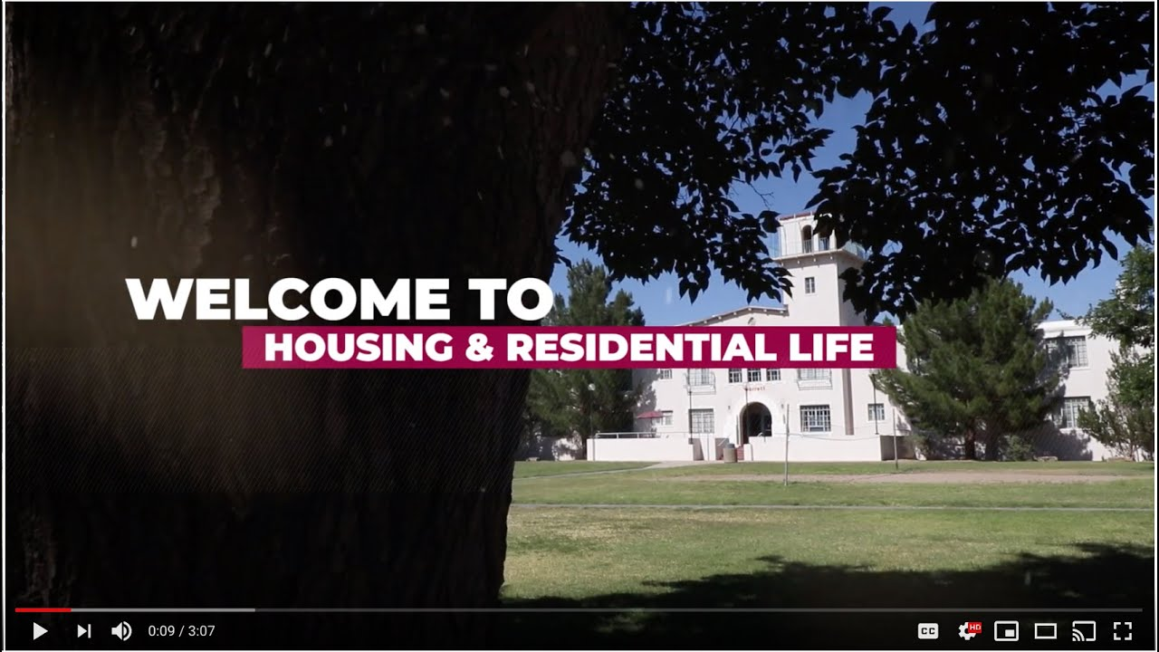 Nmsu Housing 2019 Youtube