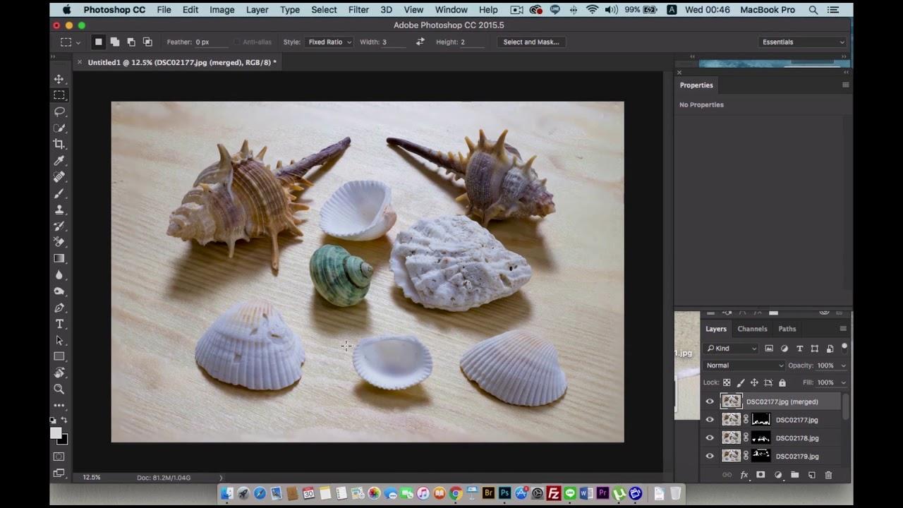 เทคนิคการถ่ายภาพ Stack focus