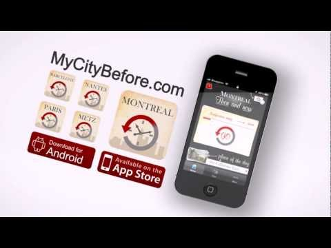 Montreal, Then and Now (App demo video) - Visit Montreal 100 years ago