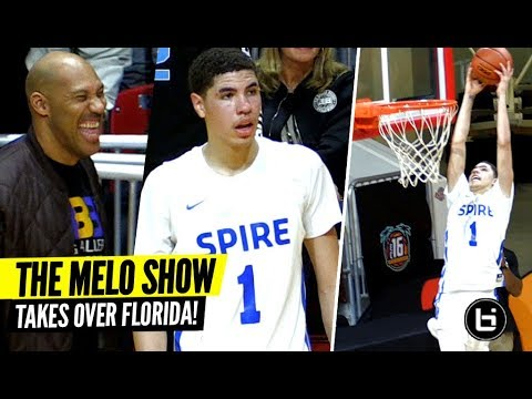 LaMelo Ball's Game Is EVOLVING! Spire Takes OVER Florida!