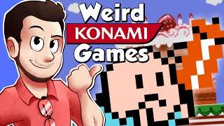 Weird Konami Games - AntDude