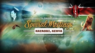 New Things Are Being Declared - Sister Mercy & Saints Nairobi 2016 Convention