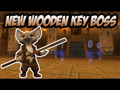 Wizard101: NEW Wooden Key Boss - Sapoti