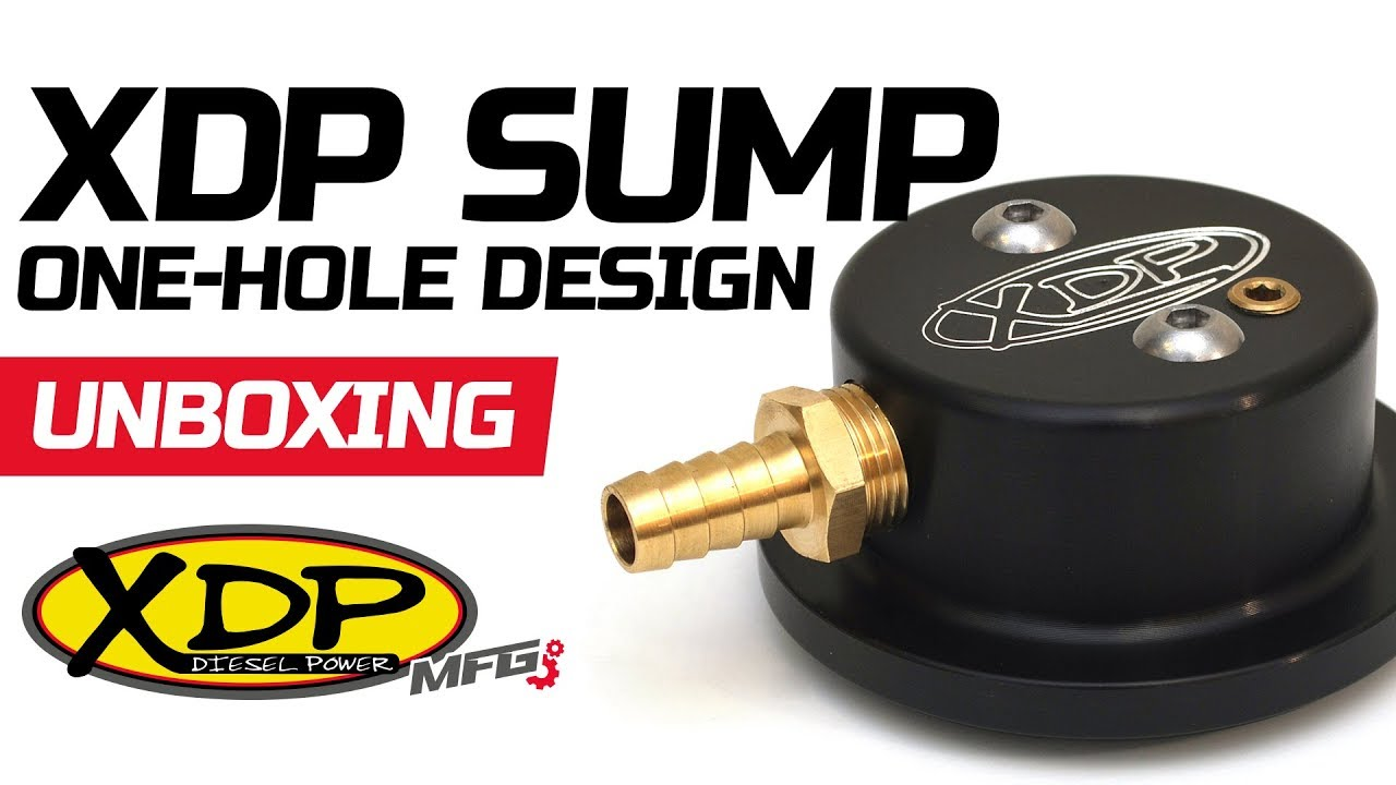 Fass, Sinister Diesel Fuel Tank Sump Kit Fuel Pump Works with Airdog