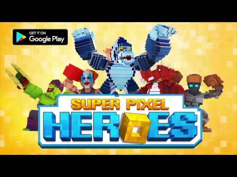 SUPER PIXEL HEROES - MOBILE GAME TRAILER