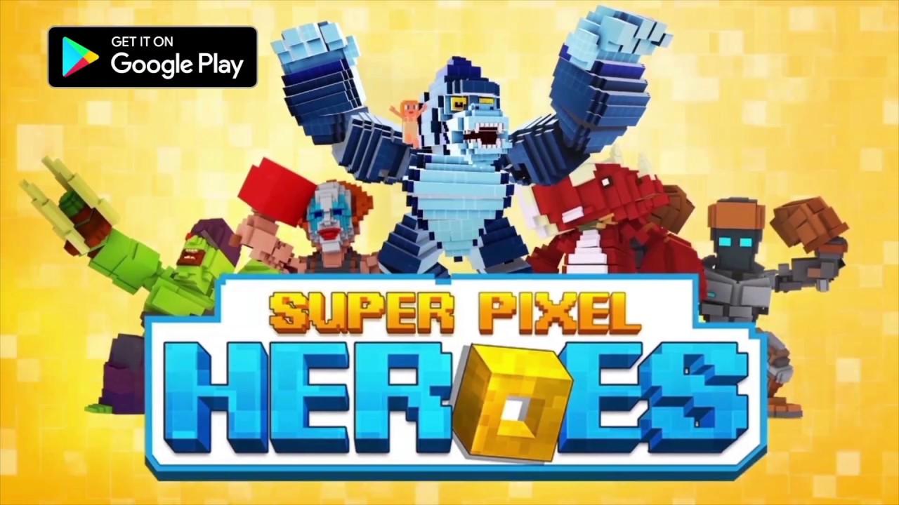 SUPER PIXEL HEROES - MOBILE GAME TRAILER