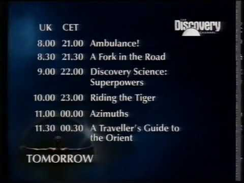 End Of Discovery Channel Europe 8th July 1995