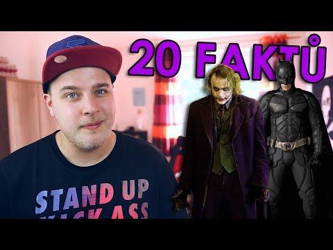 20 FAKTŮ - Batman Temný rytíř