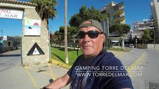 TORRE DEL MAR, Motorhome sites. Spain