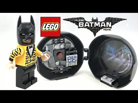 Rare LEGO Batman Movie Battle Pod polybag review!