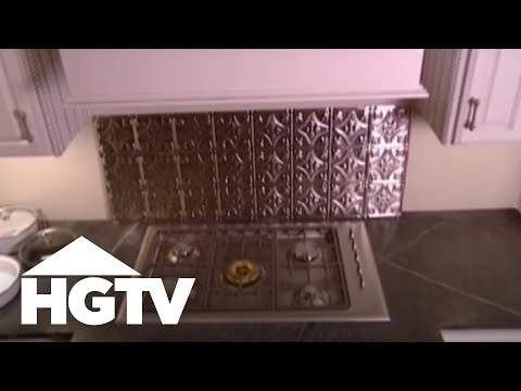 Kitchen Backsplash Video diy cheap kitchen backsplash ideas - hgtv video - youtube