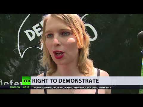 'Protesters brutalized – not new, but more aggressive' – Chelsea Manning on Senate police abuse