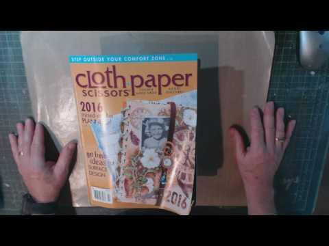 Bland Designs- Cloth Paper Scissors Review