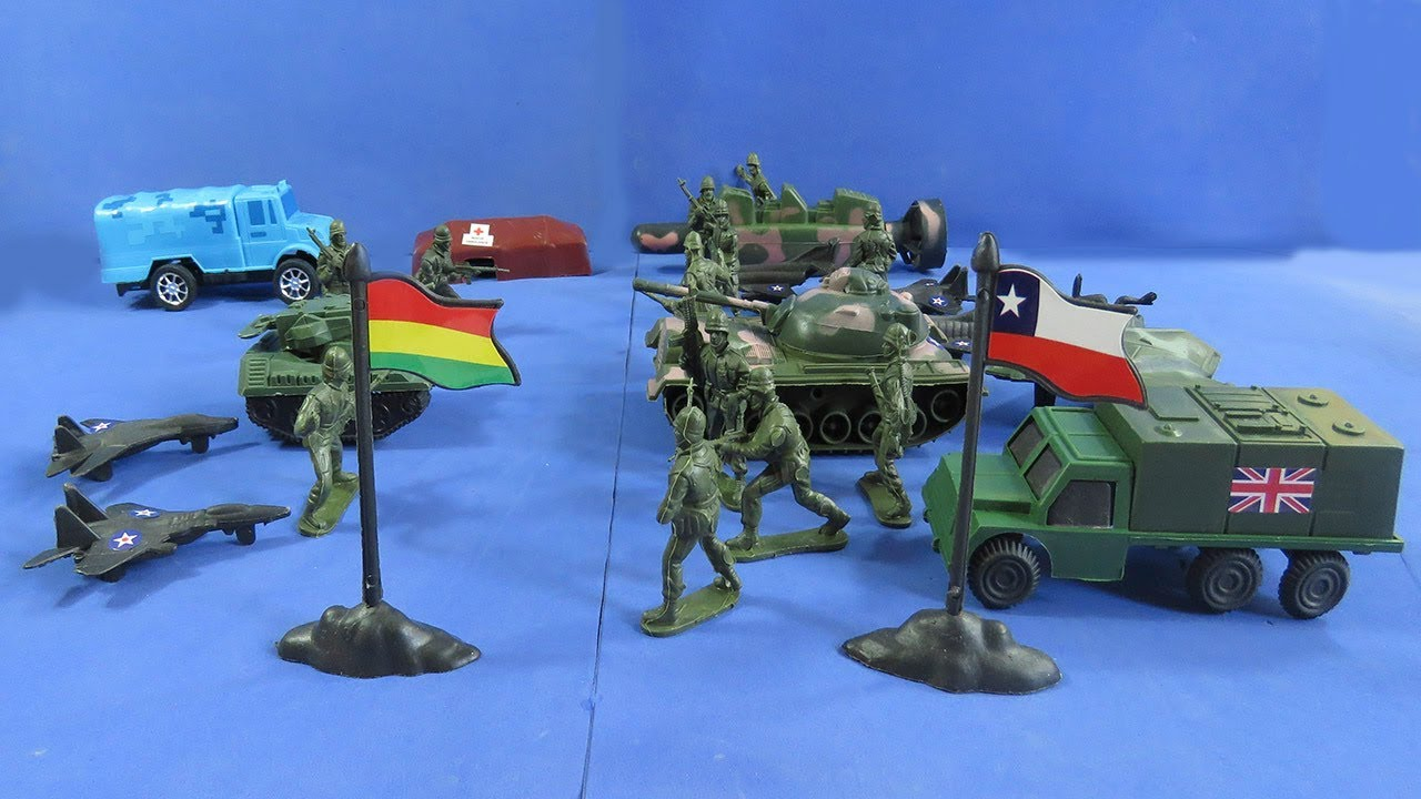 Review Arsenal Militar Juguetes Plástico Batalla Soldados Toys De Bolsa uTXiOPkZ
