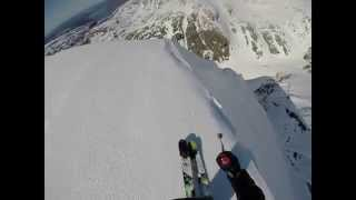 Steepest line ever at Gullfjellet, Norway POV
