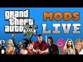 GTA 5 Mods with THE DARK KNIGHT LIVE!