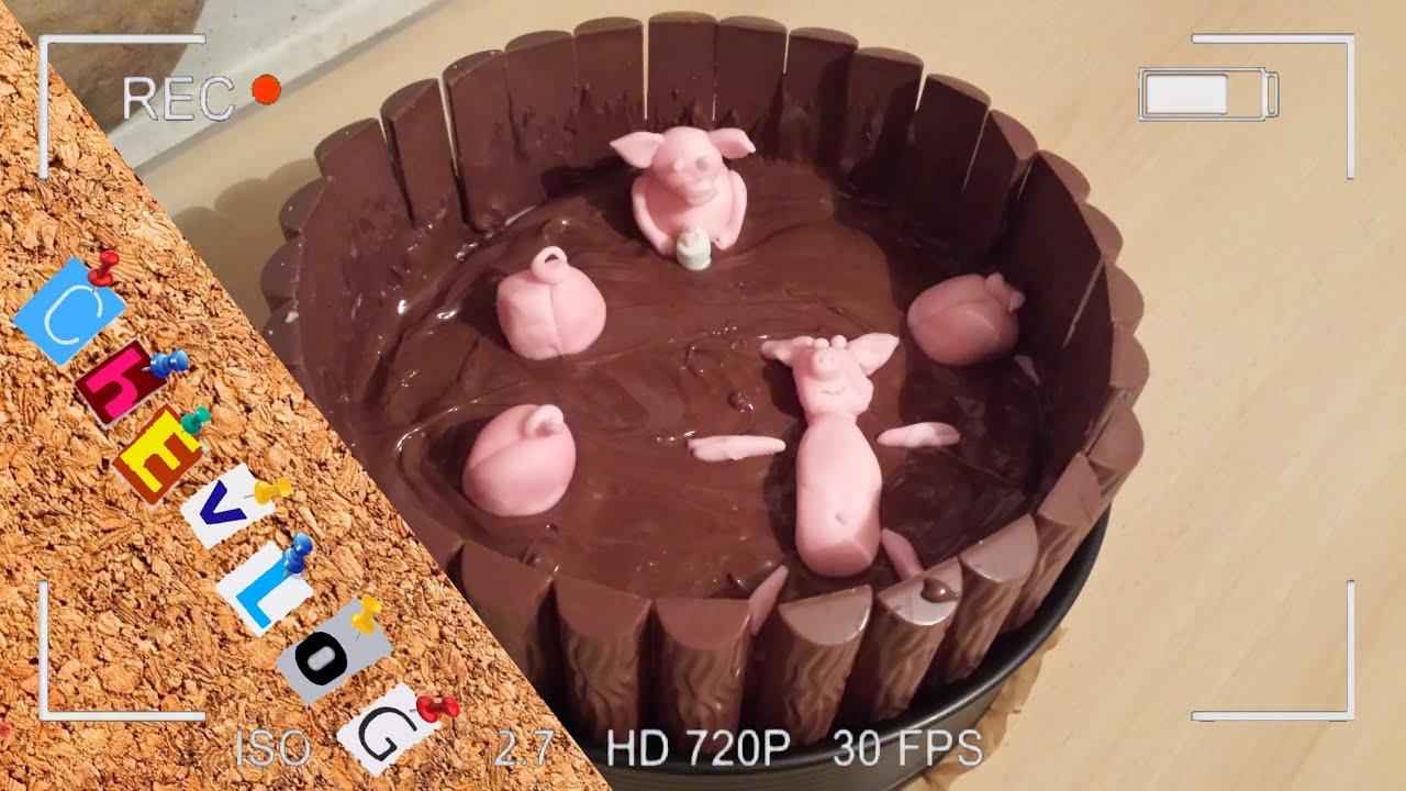 Schweine Im Matschkubel Kuchen Youtube