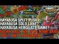 HAYABUSA TUH EARLY GAME SUDAH GA JAMAN LATE GAME   Mobile Legends Indonesia
