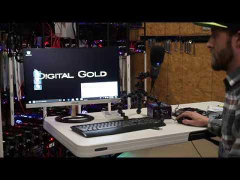 RX580 Mining Rig Build