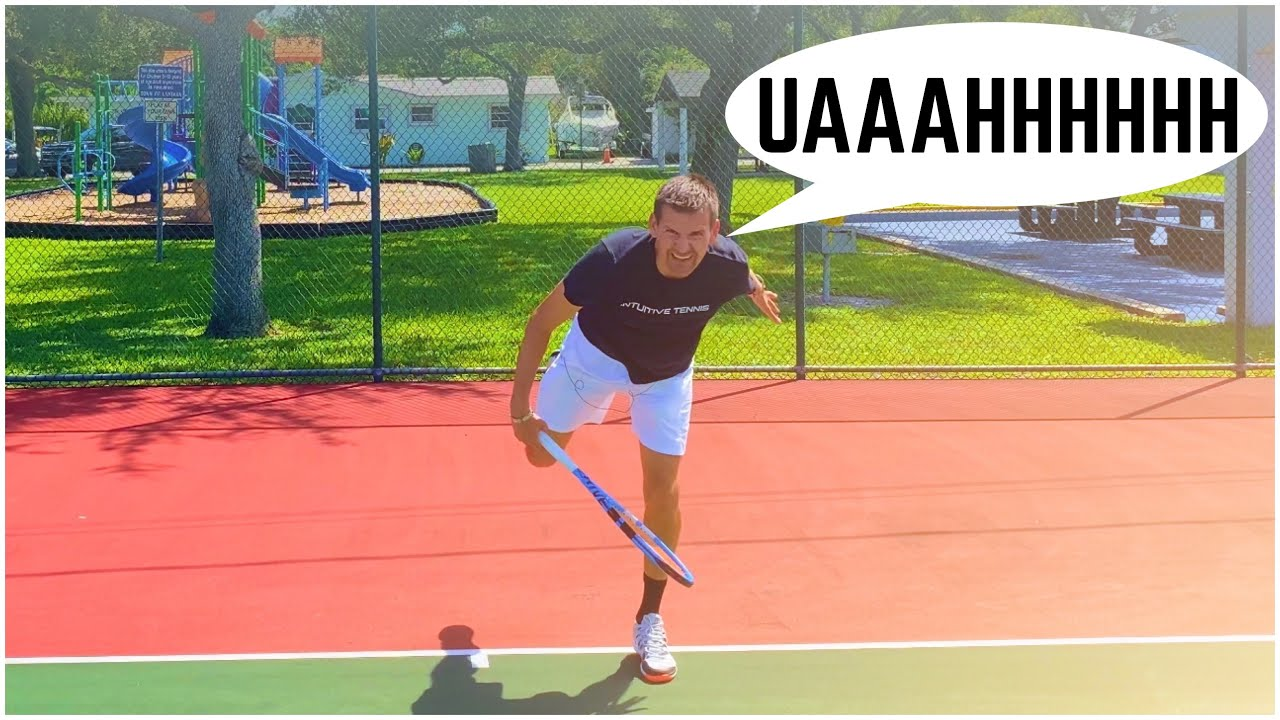 Grunting in Tennis is Intuitive