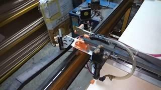 Лазерный станок своими руками, рабочим полем 1.7м  х 1.1 м. CO2 80W