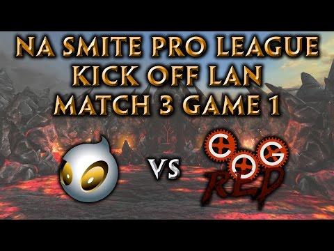 NA Pro League Kick-Off LAN Finals Game 1 - Cognitive Red vs. Team Dignitas