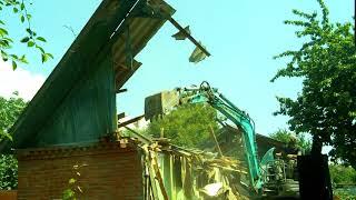 Демонтаж Ленина 45 - Зверь чурбан за рулем