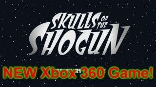 Skulls of the Shogun - NEW XBLA Game!