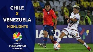 Chile 1-0 Venezuela   Preolímpico 2020