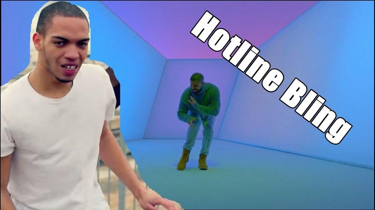 Drake Hotline Bling Feat Icejjfish Youtube