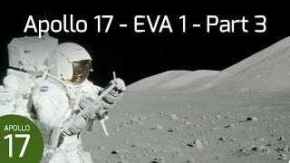 Apollo 17 EVA 1 - Geology Station 1