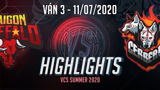 HighLights SGB vs CES [Ván 3][VCS 2020 Mùa Hè][11.07.2020]