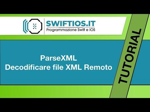 17 - ParseXML Remoto - Swift e IOS | Italiano thumbnail