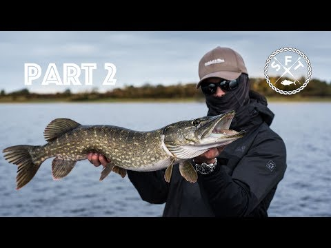 CRAZY PIKE Fishing In Ireland 4K / Lough Ree & Shannon / Part 2 / Swiss Fishing Team