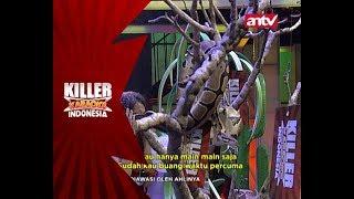 Bisakah Nisa mengambil kertas diantara ular yang melingkar? - Killer Karaoke Indonesia