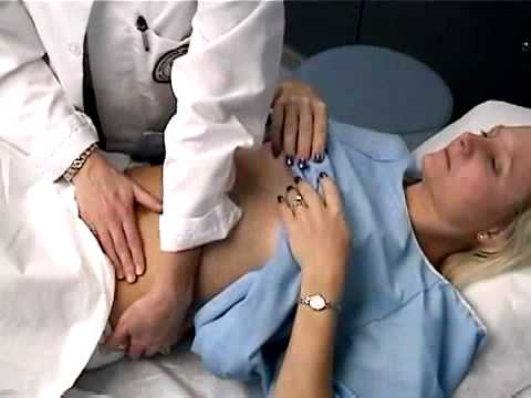 Disabled girl breast examination 9