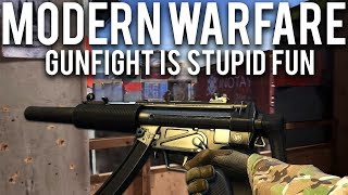 Modern Warfare Gunfight is stupid fun