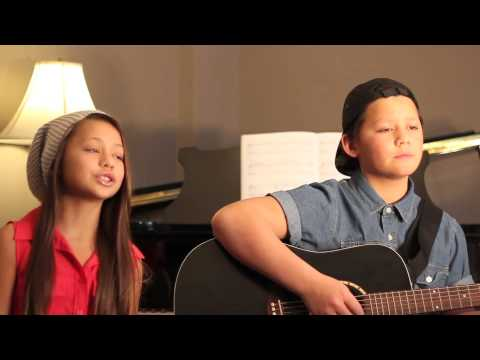 We Can't Stop by Miley Cyrus - Arranged by Boyce Avenue (Cover by Brendan and Malaya)