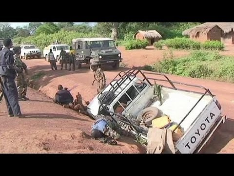 Peacekeeping reinforcements arrive in Central African Republic as bodies litter streets after...